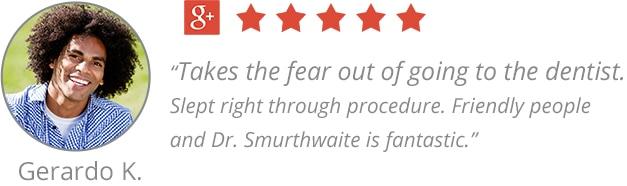 Testimonial from Gerardo, a happy patient of the top Rocklin dentist, Smile Quest Dental in Rocklin, CA 95765.